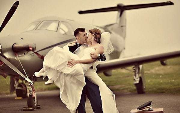 The Unlikely Link Between Jet Lag and Alternative Bridal Parties