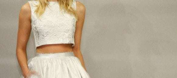 Amazing 2 Piece Wedding Dresses That Work [photos]